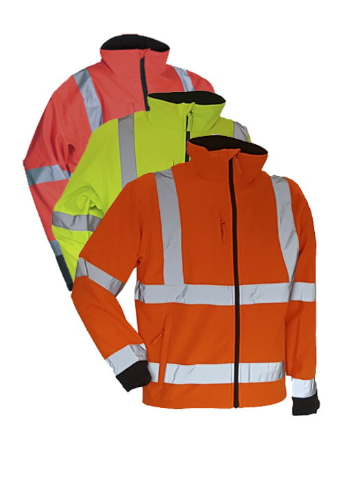 FOX471 | High-Visibility Softshell Jacket