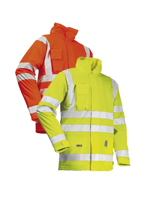 LR28 | High-Visibility Winter Rain Jacket