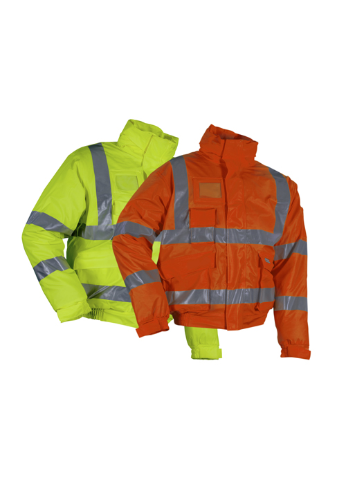 LR3567 | High-Visibility Winter Rain Bomber Jacket