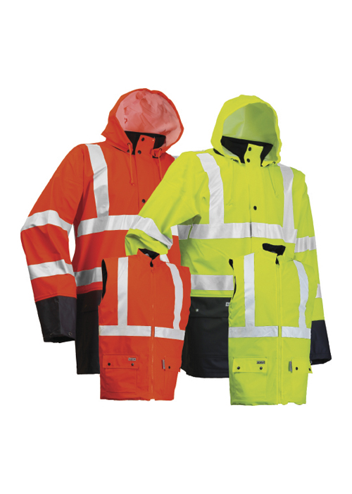 LR4379-3in1 | High-Visibility Jacket + High-Visibility Waistcoat
