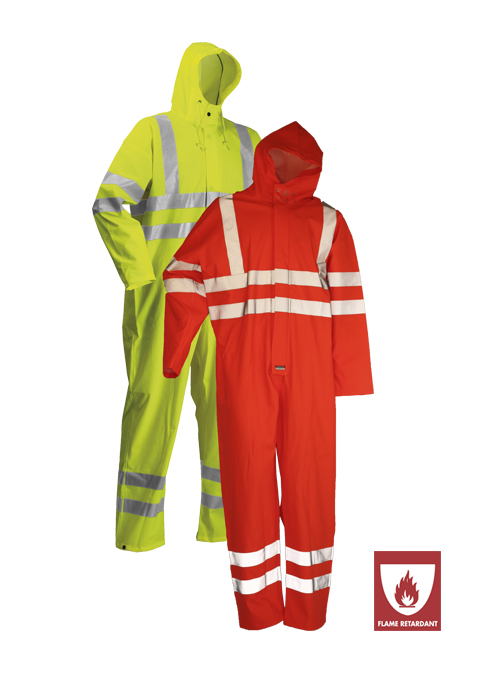 ARC-LR4057 | Flame-Retardant High-Visibility Coverall