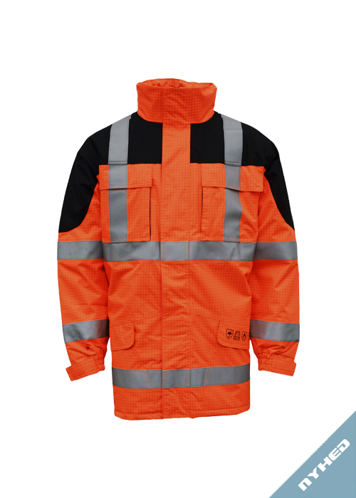 ARC-LR17095 | Flame Retardant High-Visibility Winter Jacket