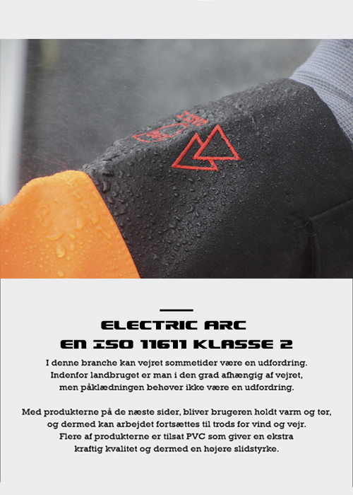 Electric arc EN ISO 11611 Klasse 2